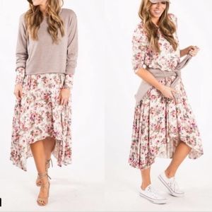 Agnes & Dora When Flowers Bloom Earhart Dress M/L